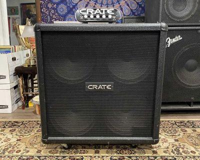 CRATE Powerblock & guitar speaker Cabinet