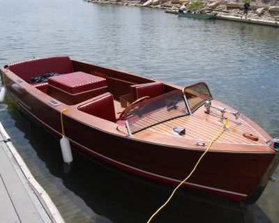 1941 Chris-Craft Utility Deluxe Runabout