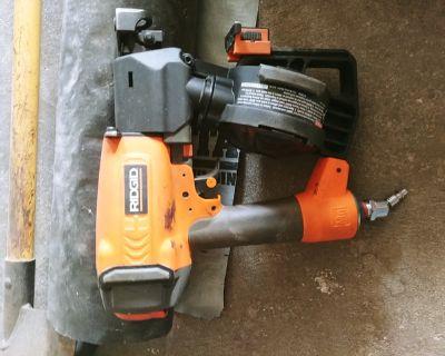 Roofing Nail Gun, Shovel and Misc
