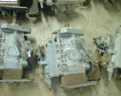 VW Diesel injection pump cores 068 130 107 A