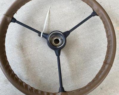 Custom 3 spoke steering wheel (big spline)