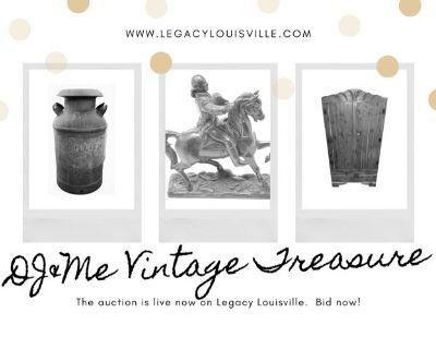 DJ&Me Vintage Treasure Estate Collection