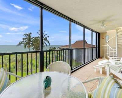 Watch the sunset from your private penthouse deck! Watch Dolphin jump all in serene privacy! - Sanibel