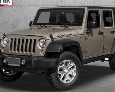 2016 Jeep Wrangler Rubicon Hard Rock