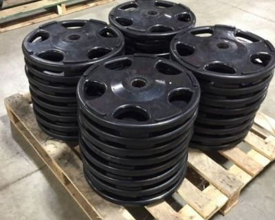 Lot of Rubberized Plate Weights RTR# 1043674-35