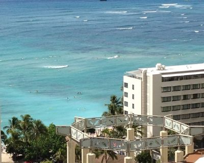 Beach House in the Sky#2 Ocean views/700 Steps to bch/Lodging Unit/Kitchenette - Waikiki