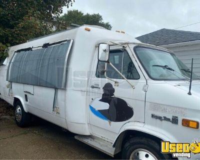 Used Chevrolet Street Food Truck / Mobile Food Vending Unit