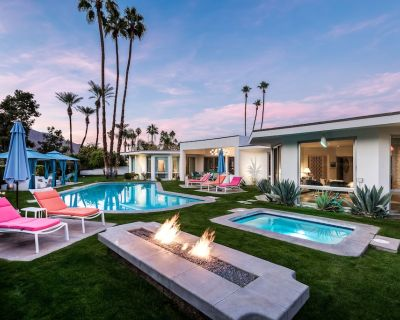 Golf Course Estate , All En-Suite, All King Beds, Pool-Side Cabanas and Fire Pit - Indian Canyon