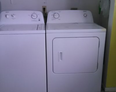 Admiral washer / dryer for sale $200 set