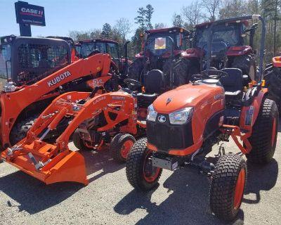 Kubota BX Sub Compact and B Compact Series Tractors