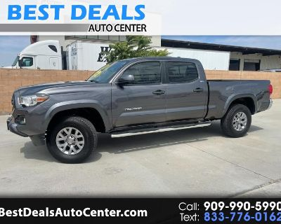 Used 2017 Toyota Tacoma SR5 Double Cab Super Long Bed V6 6AT 2WD