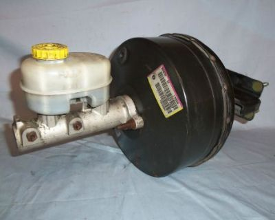 Dodge 2500, 4x4 Truck Power Brake Booster And Master Cylinder