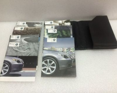 2007 Bmw 530, E60,5-series Owner's Manual Portfolio,booklet,buy-now Or Miss Out.