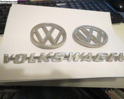 Various VW Emblems