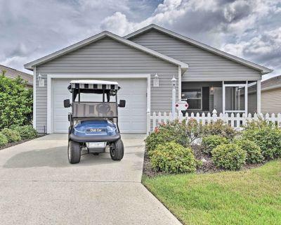 NEW! Updated Villages Cottage w/ Golf Cart Access! - Fernandina