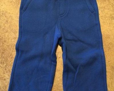 Baby GAP royal blue fleece-knit pants - 18-24 months - BRAND NEW - Qty. 1