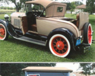 1929 Ford Model A All-Steel Original Restored Roadster Stock
