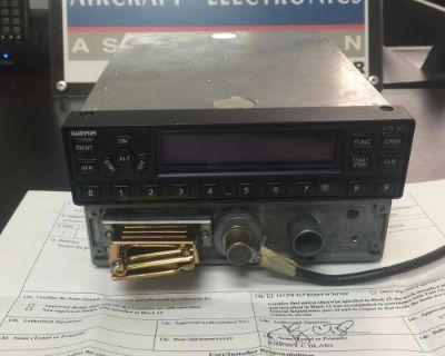 Gtx 327 Garmin Transponder 011-00490-00 With 8130 And Install Kit