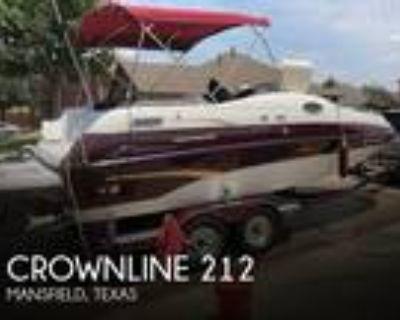 21 foot Crownline 212