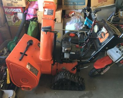Aries tracked Snow Blower
