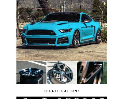 RSR R901 Mustang Spec Forged Wheels