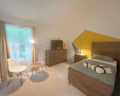 Nice, fully furnished room + private bath/shower
