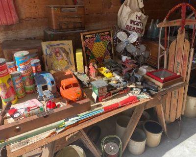 Estate Sale-Vintage Toys, Coca Cola, Antiques furniture, Mid Century Modern