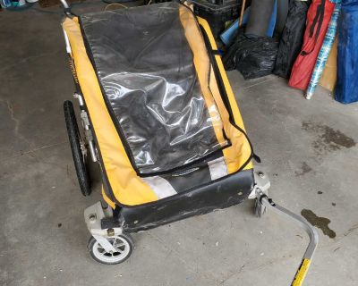 Chariot Cougar 2 Double Bike Trailer