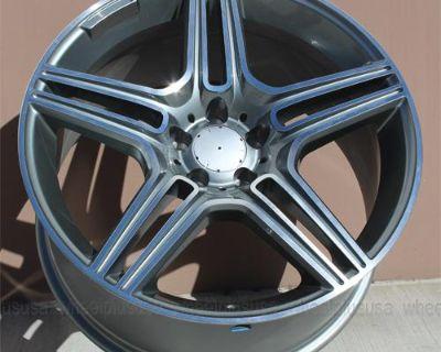 "20"" 20x8.5/20x10 Mercedes Benz Wheels Cl550 Cl500 Cl600 S550 S430 S500 E500 E55"