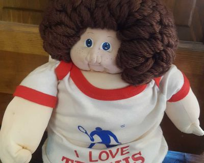 Xavier Roberts 1978 Original Little People Soft Sculpture Cabbage Patch Kids with Original Papers