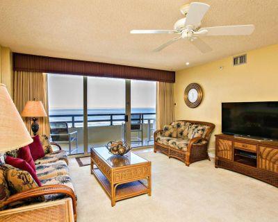Oceanfront, Family Friendly, NO-DRIVE Beach, Heated Pool, Master w/ Balcony Access-FREE WIFI!! - Daytona Beach Shores