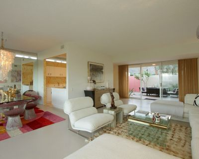 Stylish Mid-Century Modern inside Seven Lakes Country Club - golf, tennis, swim - Palm Springs