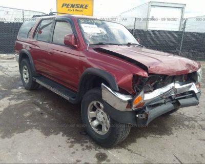 Salvage Maroon 1997 Toyota 4runner