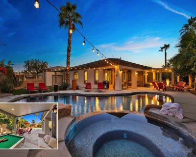 Escape: Pool, Spa, Pool Table, Foosball, Ping pong - Indio