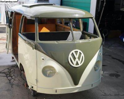 Rare 1958 Volkswagen Westfalia Camper Original.