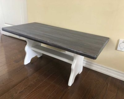 Rustic Farmhouse Bench or Coffee Table