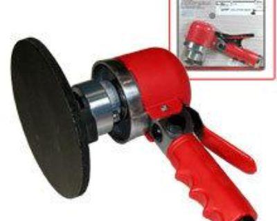 "Orbital 6"" Dual Action Sander Air Tool Paint Shop Automotive Compressor Tools"