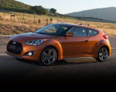 2014 Hyundai Veloster Turbo with Blue Interior Automatic