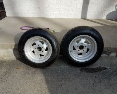 1988 Mr Gasket Alluminum 15 X 7 Rims
