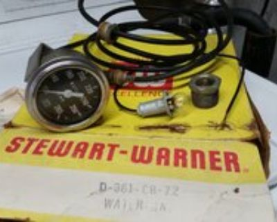 361CB72 SW Water Temperature Gauge, Wire & Thermo 8232672 100-265 degrees