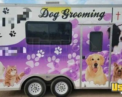 2007 - 16' Mobile Dog Grooming Trailer / Mobile Pet Care Trailer