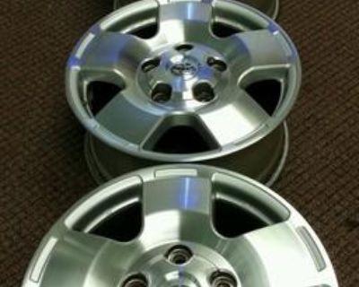 "07-12 Toyota Tundra Trd Sequoia 5 Spoke Factory Oem 18"" Wheels Rims #69516"