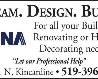 DREAM. DESIGN. BUILD. RONA ...