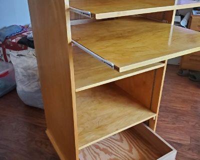 artist drawing storage cabinet