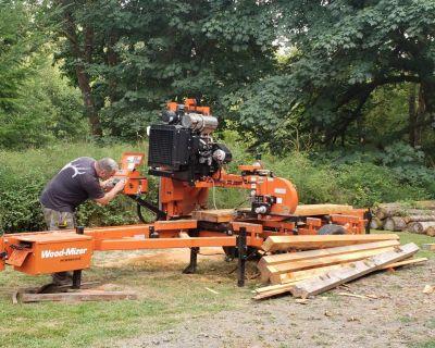 STOLEN 2017 portable WOOD-MIZER sawmill LT40HDD35W