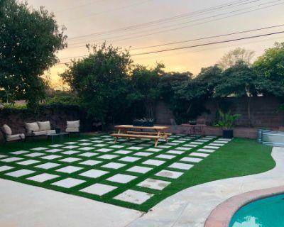 Huge Modern Backyard for Outdoor Parties in Northridge Area, North Hills, CA