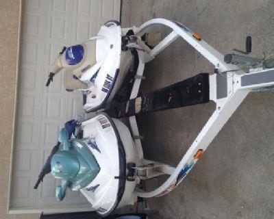 $6,000 OBO 2 - 2001 Sea Doo Jet Skis