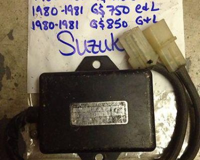 Suzuki Cdi Gs750 Gs850 Gs1000 Gs1100 Oem Vintage Used Ecm Igniter 32900-45110
