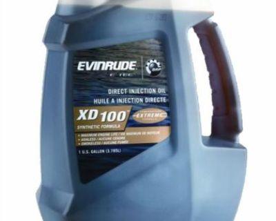 Oem Brp Evinrude E-tec Xd 100 Outboard Motor Oil 1 Gallon 0764357