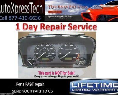 1998 Volkswagen Vw Jetta Cabrio Gauge Cluster Speedometer Repair Service